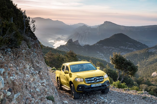 Mercedes-Benz Reveals New Pick Up Truck